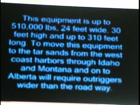 Tar Sands and the Heavy Haul
