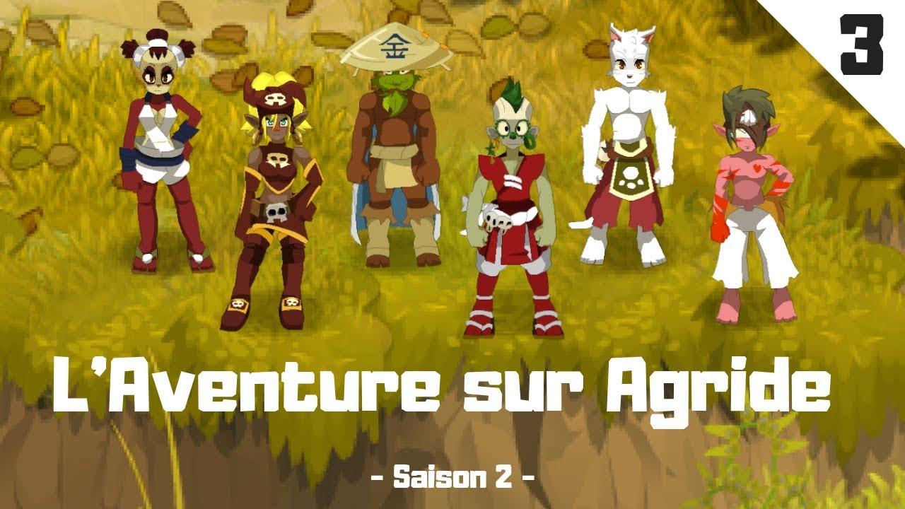 Dofus Laventure Sur Agride 3 Dofus Cawotte Avancement