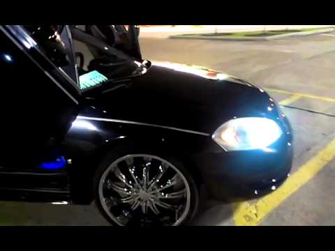 2009 Impala On 22slambo Doorsrear Doorsand B
