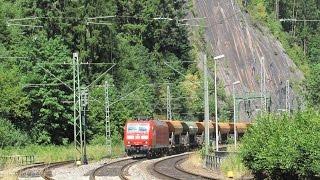 IC´s, RE´s und Güterzüge auf der Schwarzwaldbahn (September 2014)