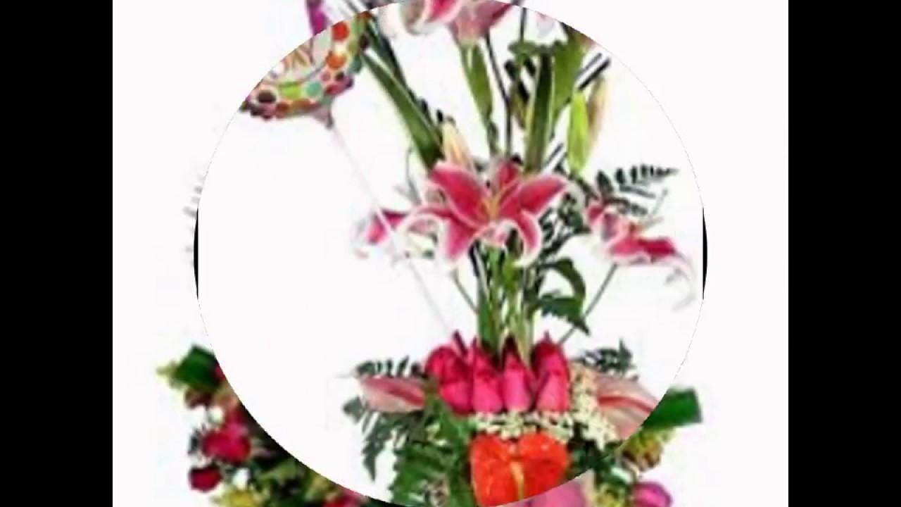 Arreglos Florales Para Cumpleaños Youtube
