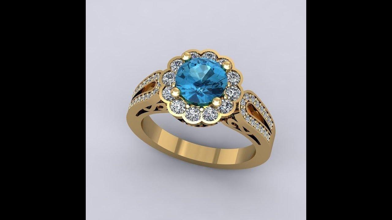 Stone Rings Designs | Gold Finger Rings Designs for Female ...