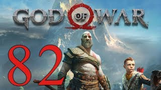 God of War (2018) playthrough pt82 - FIGHT of the Valkyrie! Duel w/ Gunnr