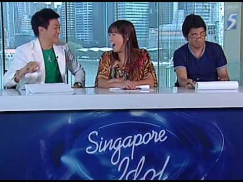 Singapore Idol 2009 Episode 2 part 1/4 by Bob