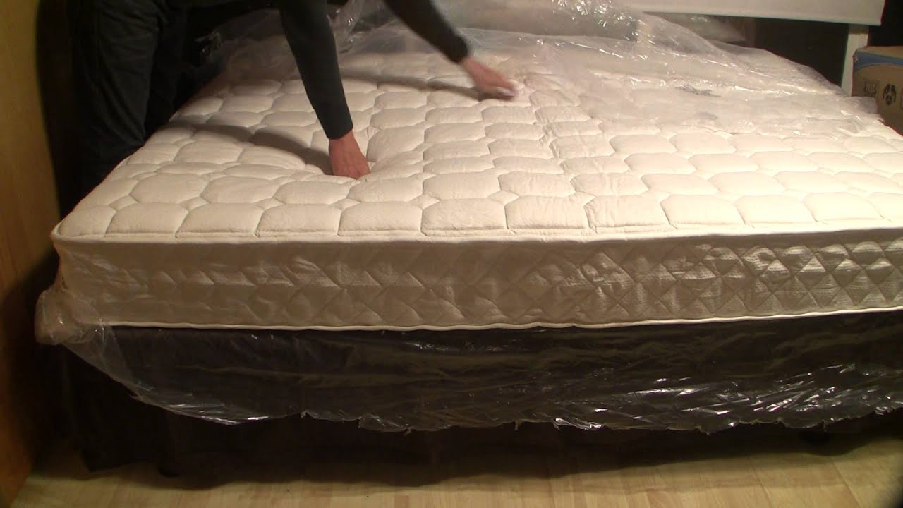 Inflating Mattress In A Box Youtube