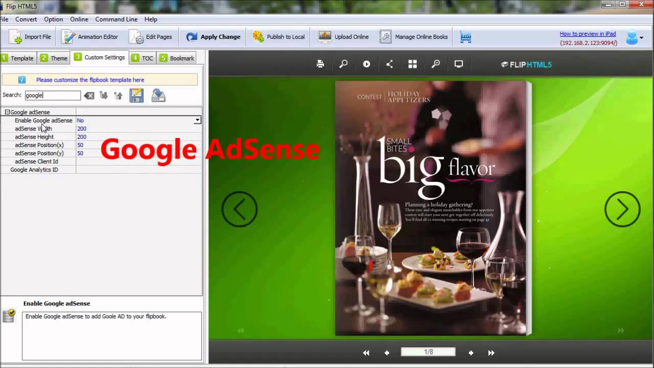 Best free Flipbook Software to make flipping book from PDF - Flip HTML5