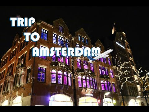 TRIP TO AMSTERDAM (🔞RED DISTRICT🔞) 🛫  #1
