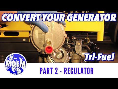Tri-Fuel Generator Conversion - (Part 2) - Installing the Regulator - FULL LENGTH VERSION