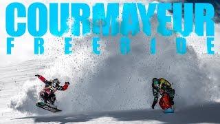 SNOWBOARD FREERIDE a Courmayeur!!! Click on the Mountain! (ep.1/2)