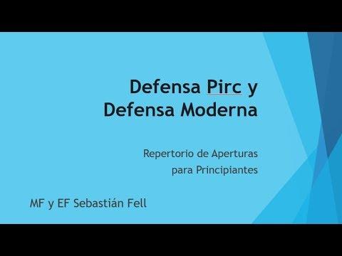 Ataca las Defensas Pirc y Moderna - Repertorio para Principiantes y Jugadores de Club