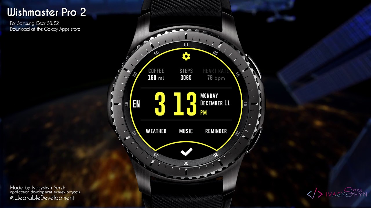 792f6dc5874 Wishmaster Pro 2 watch face for Samsung Gear S3