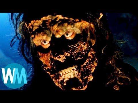 Топ 10 лучших хоррор - экшн фильмов | WatchMojo | перевод
