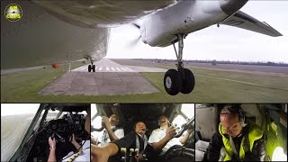 MUST SEE! Rare Antonov 26 Touch & Go seen by STUNNING Outside & Cockpit-Cams, Air Urga! [AirClips]