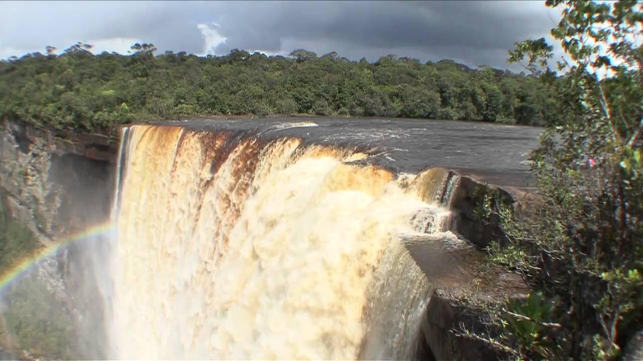 Kaieteur Falls Hd Video Beauty Shots Youtube
