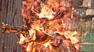 Uncharted 4 Survival - Warlord Boss Fight (Adam Baldridge, Lord of The Djinn)
