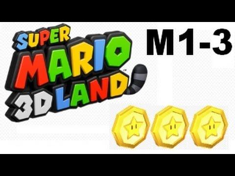 Super Mario 3D Land al 100% Mundo 1-3