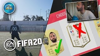 FUT DRAFT ΜΑΖΙ ΜΕ CROSSBAR CHALLENGE??? [FIFA 20 ULTIMATE TEAM]
