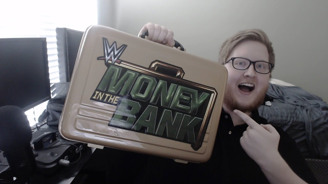 Galerry WWE Money in the Bank Commemorative Briefcase WWE US