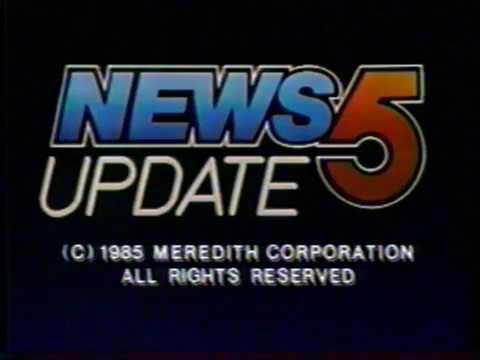 11/14/1985 KPHO Channel 5 News Update Tease Phoenix, AZ
