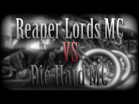 GTA V Online: Reaper Lords MC VS Die Hard MC - Free Aim