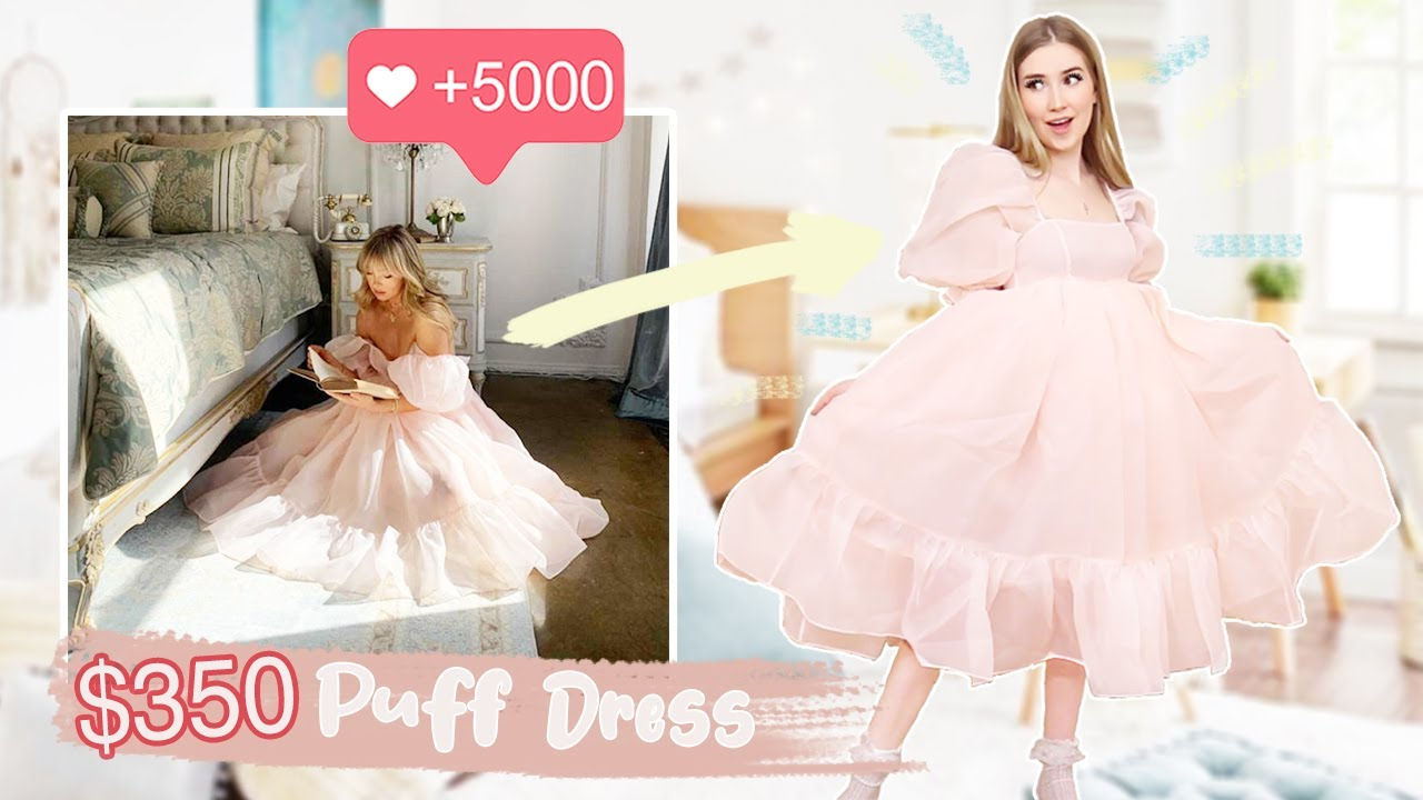 """Trying The VIRAL """"Selkie"""" Puff Dresses !! *is it as cute in person*"""