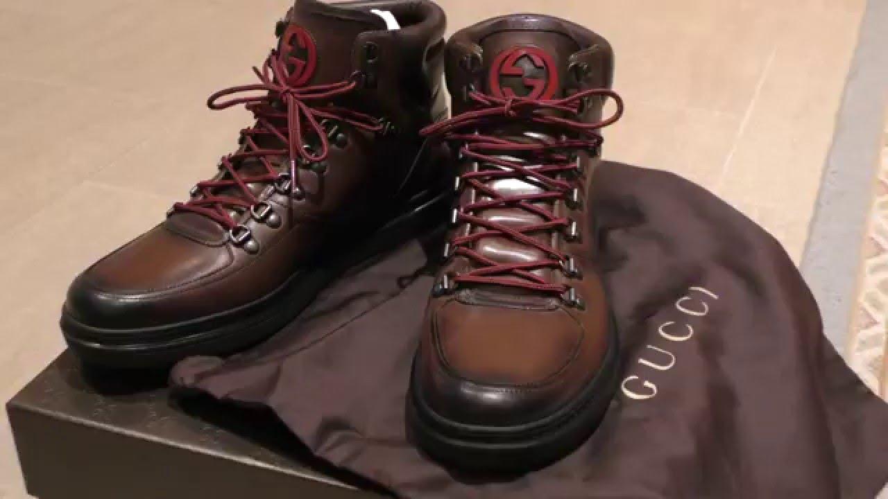 917e23a3abb4 Gucci Sneaker Boot Review 2016 - YouTube