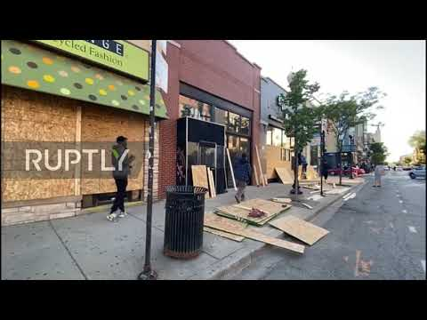 USA: Looting continues