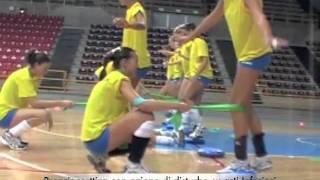 Volley - Progressione Didattica Propriocettiva 01