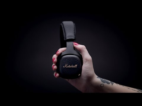Marshall - Mid Active Noise Cancelling Headphone - Full Overview