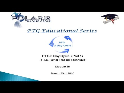 PTG University 3 Day Cycle Part 1