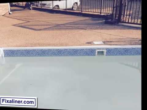 Swimming pool liner repair Ameri Shield Install