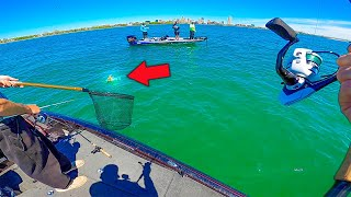 Catching GIANT BASS in CRYSTAL CLEAR Water