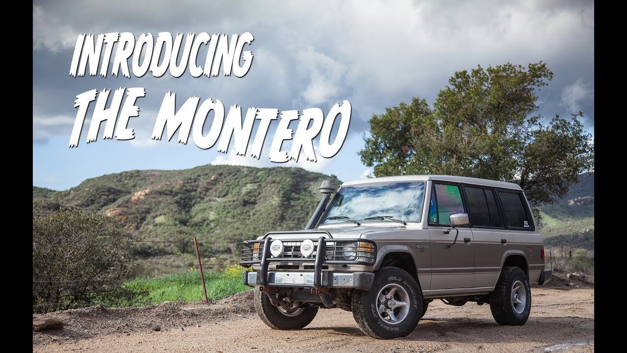 Meet the newest Hooniverse Project Car: A 1991 Mitsubishi Montero