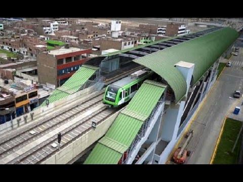 Tramo 2 - Línea 1 del Metro de Lima, Perú