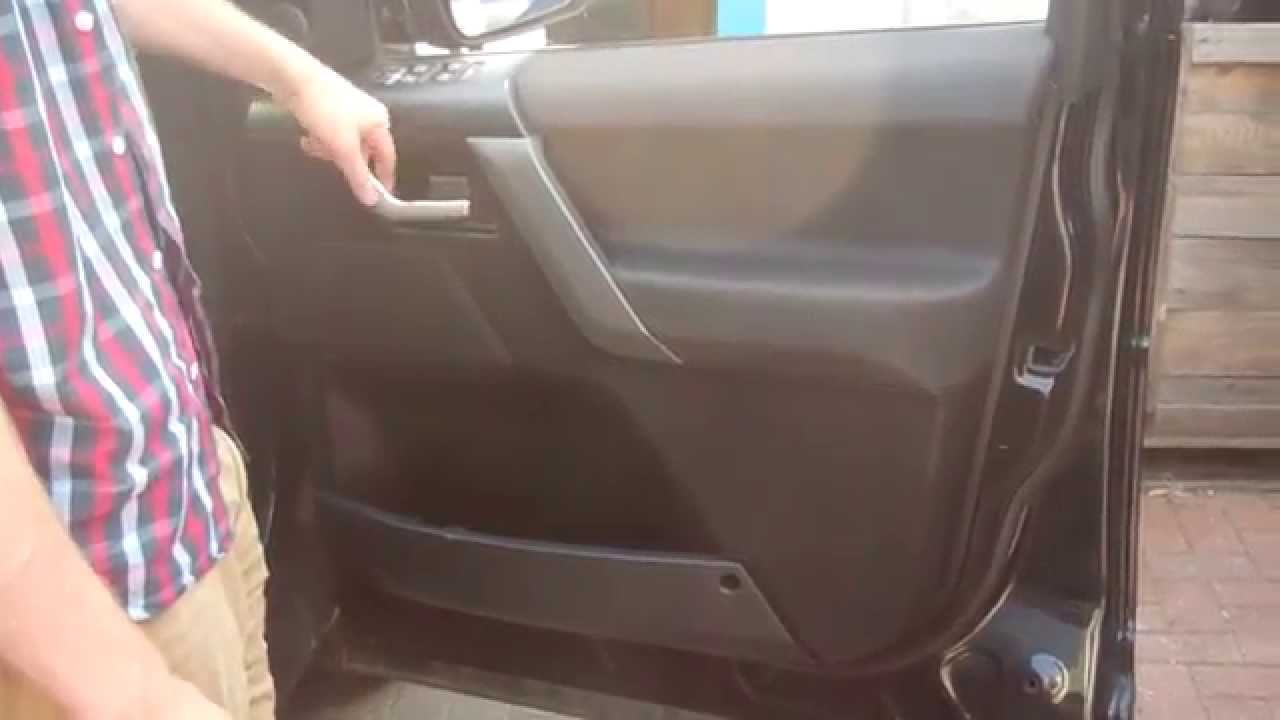 How To Remove The Door Card On A Land Rover Freelander 2