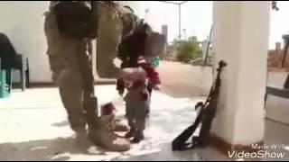 Perpisahan mujahidin dengan anak