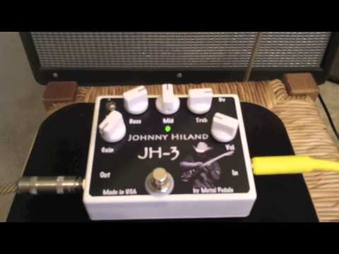 johnny hiland pedal overdrive distortion pedal by www metal youtube. Black Bedroom Furniture Sets. Home Design Ideas