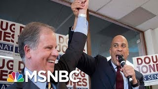connectYoutube - What Steve Kornacki's Map Says About A Doug Jones Win | Morning Joe | MSNBC