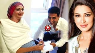Akshay Kumar Meets Sonali New York