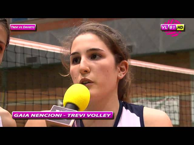 Interviste Trevi vs Orvieto
