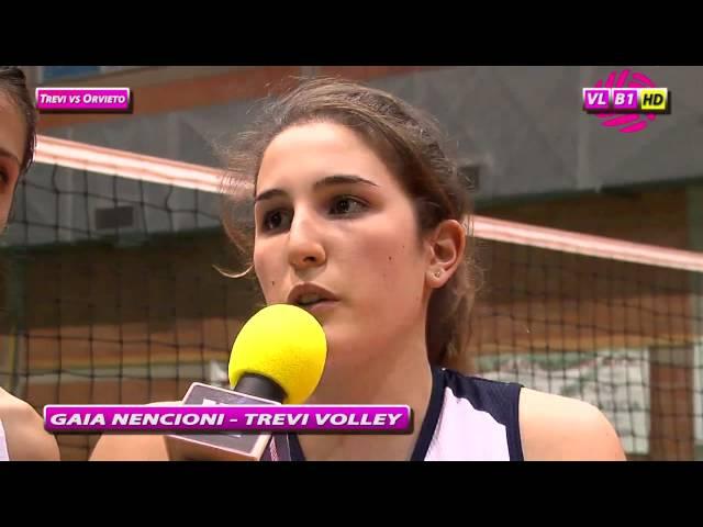 Interviste Trevi vs Orvieto
