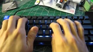 65g Zealio Keyboard Typing/Sound Test