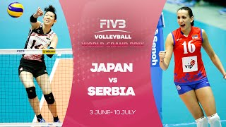 Japan v Serbia highlights - FIVB World Grand Prix