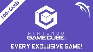 EVERY Nintendo GameCube EXCLUSIVE GAME | Dolphin Emulator [1080p HD]