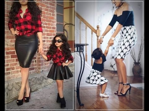 0a26fa5de9 Mother Daughter Matching OUTFITS - YouTube