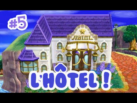 Animal Crossing Happy Home Designer Construction De L H Tel Youtube