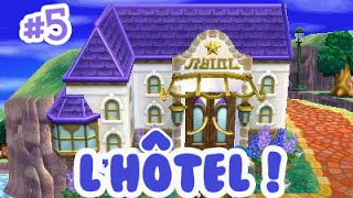 Animal Crossing Happy Home Designer - Construction de l'hôtel !
