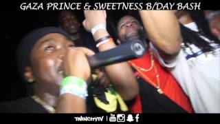 Black Ryno Live At GazaPriince & Sweetness  Birthday Bash #TwinCityTv