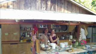 Outdoor Kitchens At Permaculture Farms And Ecovillages