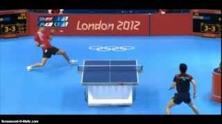 Repeat youtube video London 2012 Table Tennis: Michael Maze vs Jun Mizutani
